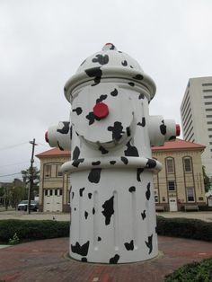 Beaumont, Texas, the world's largest fire hydrant.