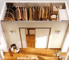 «Дизайн маленькой гардеробной комнаты 2 кв.м Гардеробная комн» — картка користувача SMIRNOVSKAY у Яндекс.Колекціях
