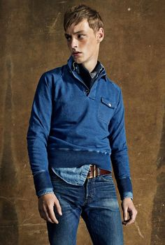 Tom Ford Goes Americana for Spring/Summer 2015 image Tom Ford Menswear Spring Summer 2015 Collection 010