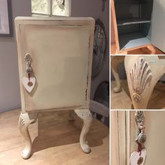 Coming soon to R. Interior Design is this elegant little cabinet.