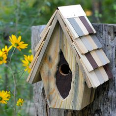 Sturdy, quality wood construction that creates a weathered, whimsical look.