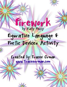 Figurative Language- I have done this activity in a 5th grade classroom! It was fun and the kids loved it!