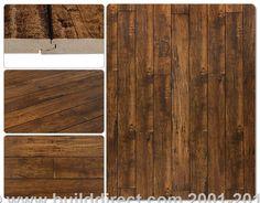 BuildDirect: Laminate Flooring 12mm Handscraped Muskoka Collection   Lake of Bays Rustic Tan