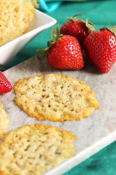Easy Parmesan Crisps | The Suburban Soapbox