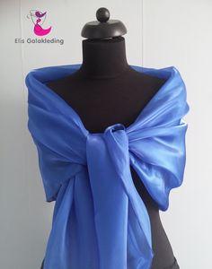 Gala sjaal blauw