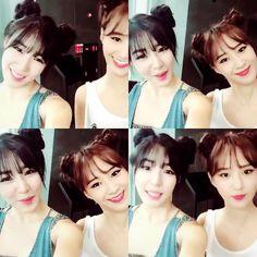Yuri and Tiffany cute selca