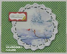 by Jessi for the Friday Challenge at Scrapbooker's Paradise Blog