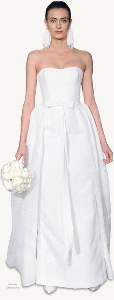 Carolina Herrera.bridal.spring-2015.