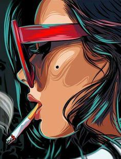 Pop Art Girl Comic Illustration Ideas For 2019 Art And Illustration, Illustrations, Arte Inspo, Kunst Inspo, Arte Dope, Dope Art, Fantasy Kunst, Fantasy Art, Pop Art Drawing