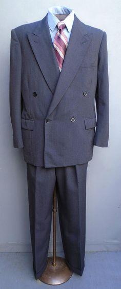 1930's Men double breasted wool coat | 1930's | Pinterest | Wool ...