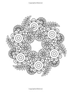 Floral Mandalas: +Bonus: Full Digital Copy of Interior Inside, Enjoyable coloring book for Adults: Relaxation, Focusing, Meditation and Stress Relief! Quote Coloring Pages, Pattern Coloring Pages, Flower Coloring Pages, Mandala Coloring Pages, Colouring Pages, Printable Coloring Pages, Adult Coloring Pages, Coloring Sheets, Coloring Books