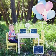 Pregnancy announcement for baby number 2!