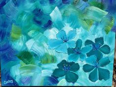 Hey, I found this really awesome Etsy listing at https://www.etsy.com/listing/236406900/giclee-print-of-blue-green-flowers