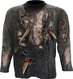 Melting Skull Horror Men T-shirt XS-5XL New