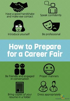 How to Prepare for a Career Fair