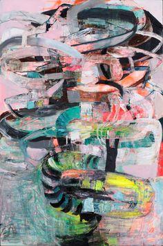 """Saatchi Online Artist: Galen Cheney; Oil, 2012, Painting """"Armature"""" #GalenCheney"""