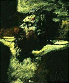 Christ Head - Nikolai Ge
