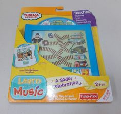 Fisher Price Learn Through Music Thomas & Friends A Sodor Celebration Cartridge #FisherPrice