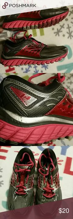 Womens Brooks Glycerin 14 Running Sneakers 3D Stretch Print Super DNA Training/Fitness sneakers. Some wear but little wear (as seen in pics) Brooks Shoes Athletic Shoes