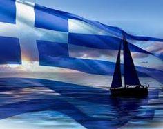 sailing in greece Greece Flag, Happy March, Flag Photo, Greek Culture, Paros, Ancient Greece, Greek Islands, Far Away, Athens