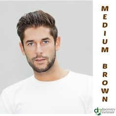 Manly Guy Medium Brown | Shop Men's Henna Hair Color at HennaKing.com