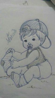 Cute sketch/drawing