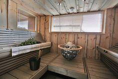 Finnish modern sauna