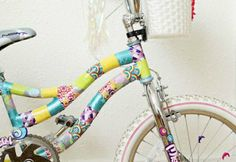 Tape Accessories Bike stripes colorful children's bike accessories