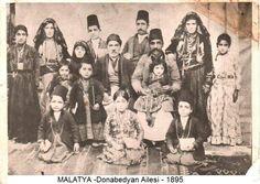 Donabedyan ailesi Malatya 1895