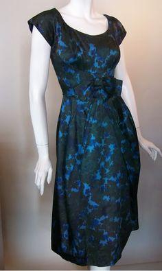 vintage 50s silk