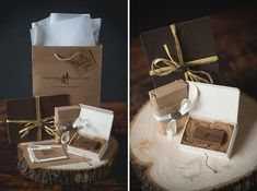Ian Andrew Photography, San Diego, CA - Kava Flash Drive Boxes, Artisan Cocoa Portrait Cases, & Natural Eurototes - packaging supplies - photography packaging - branding inspiration - Rice Studio Supply