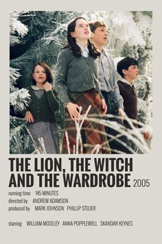 Alternative Minimalist Movie/Show Polaroid Poster - Narnia 2005 - Pinnwand Iconic Movie Posters, Minimal Movie Posters, Minimal Poster, Movie Poster Art, Iconic Movies, Poster Wall, Poster Prints, Poster Series, New Poster
