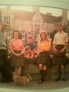 Queen Elizabeth and family at Balmoral