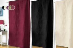 From instead of (from Groundlevel) for a pair of thermal blackout curtains - choose from six sizes in nine gorgeous colours & save Early 2000s Rock Bands, Banksy Canvas Prints, Pink Chocolate, Things To Buy, Stuff To Buy, Door Curtains, Charcoal Color, Blackout Curtains, Red And Pink