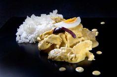 Ají de gallina, uno de los platos peruanos de Kinua, en Platea Madrid.