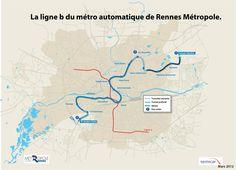 http://metropole.rennes.fr Politiques publiques - Grands projets - Ligne B Metro - Tracé