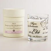 Plumeria French Boxed Candle.