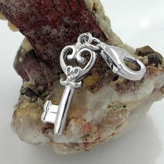 Anhänger, Charm, Schlüssel, Silber 925