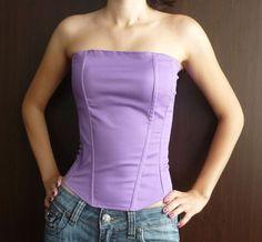 DIY Corset #DIY #Sewing #Sew #Clothes #Corsets