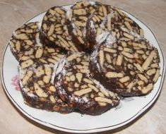 Salam de biscuiti Biscuits, French Toast, Cookies, Chocolate, Breakfast, Desserts, Recipes, Food, Fine Dining