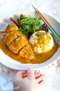 My Gluten Free Katsu Curry Recipe (low FODMAP, dairy free) Gluten Free Recipes gluten free japanese curry Fodmap Recipes, Gluten Free Recipes, Healthy Recipes, Gluten Free Japanese Recipes, Tofu Recipes, Healthy Breakfasts, Chicken Recipes, Foods With Gluten, Recipes