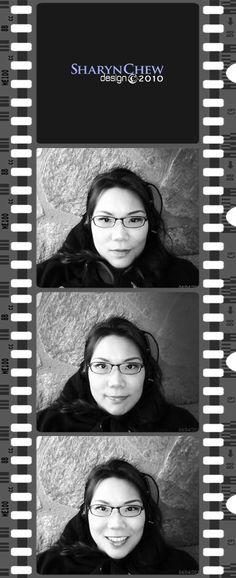 Headshots by Sharyn Chew, via Behance