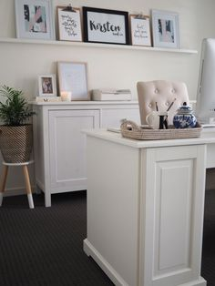My Ikea Home Office loving the color gray? create a perfect matching ikea home office