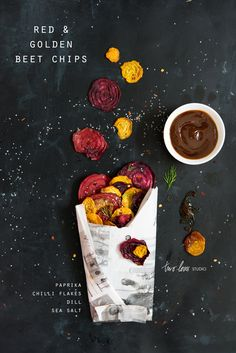 Red & Golden Beet Chips