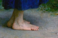 william adolphe bouguereau   ~ fine detail in paintings - hands and