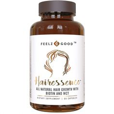 HAIRESSENCE - All-Natural Hair Growth Biotin Multivitamin Formula - Stronger Healthier Hair. Scientifically Formulated w/MCT, Vitamin B & Copper & More - Supplement for All Hair Types - Long Hair Growth Tips How To Grow Natural Hair, Grow Long Hair, Natural Hair Growth, Natural Hair Styles, Long Hair Styles, Best Hair Vitamins, Vitamins For Hair Growth, Healthy Hair Growth, Natural Vitamins