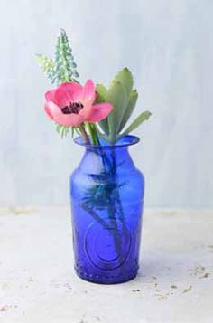 6.99 SALE PRICE! Use this Cobalt Blue Glass Vase to hold all of your favorite floral arrangements. Mix this vase among other cobalt pieces for the perfect di...
