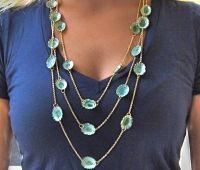 Sasha Lickle seashell necklace