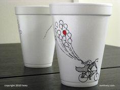 Arte em Copos de Café por Cheeming Boey – Criatives | Criatividade com um mix de entretenimento.