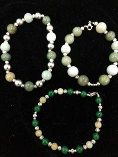 Jade, Oro blanco y acero.